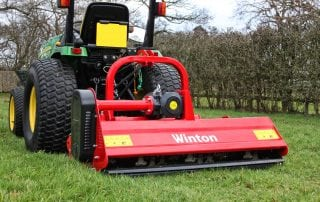 Hydraulic Offset Flail Mowers