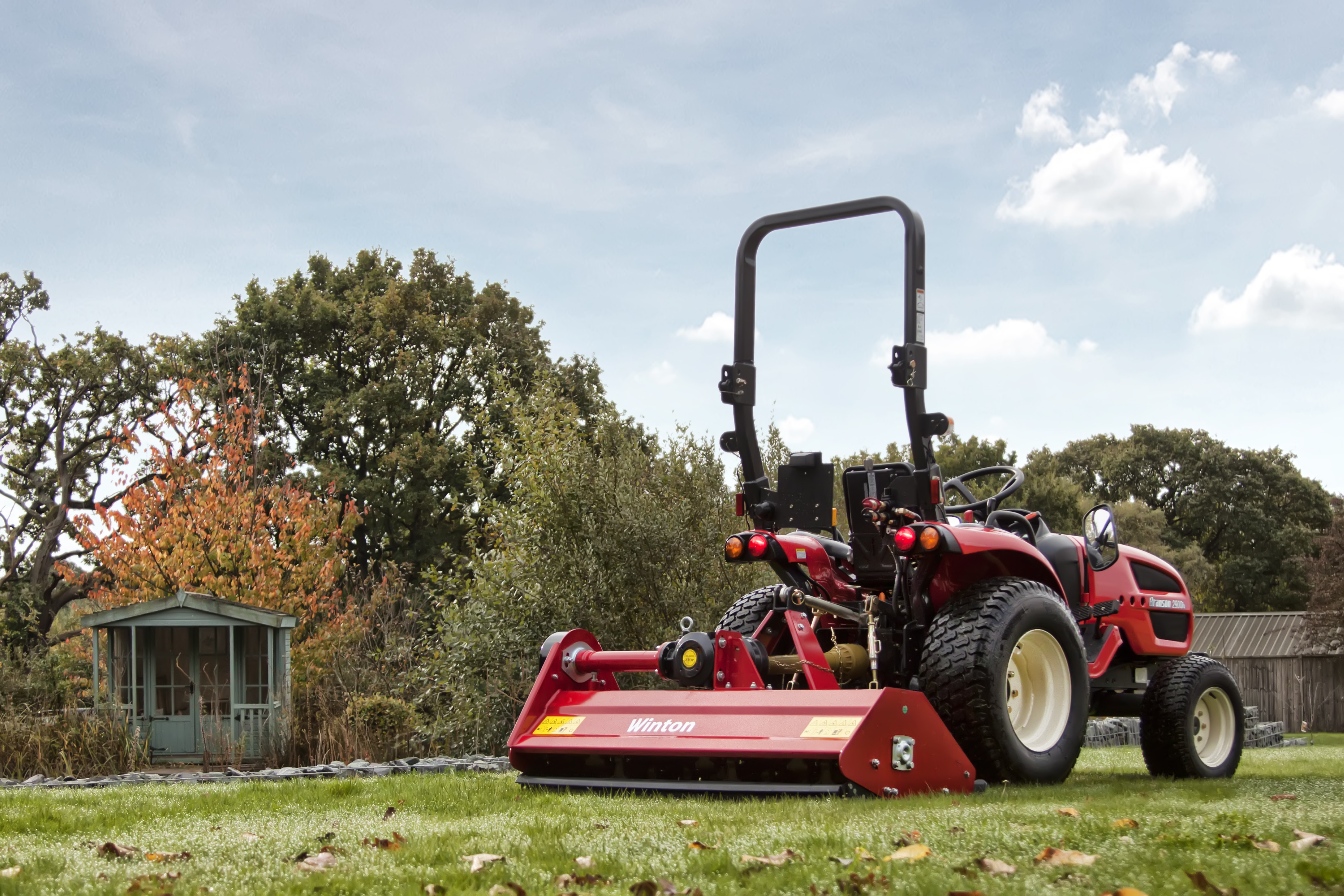 Flail Mowers   Winton Professional Tractor Attachments