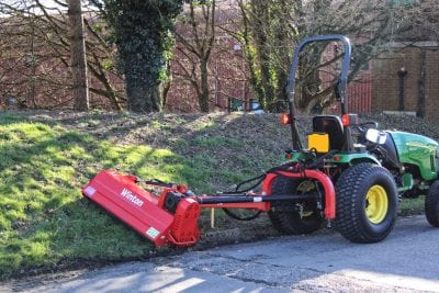 Offset Verge Flail Mowers