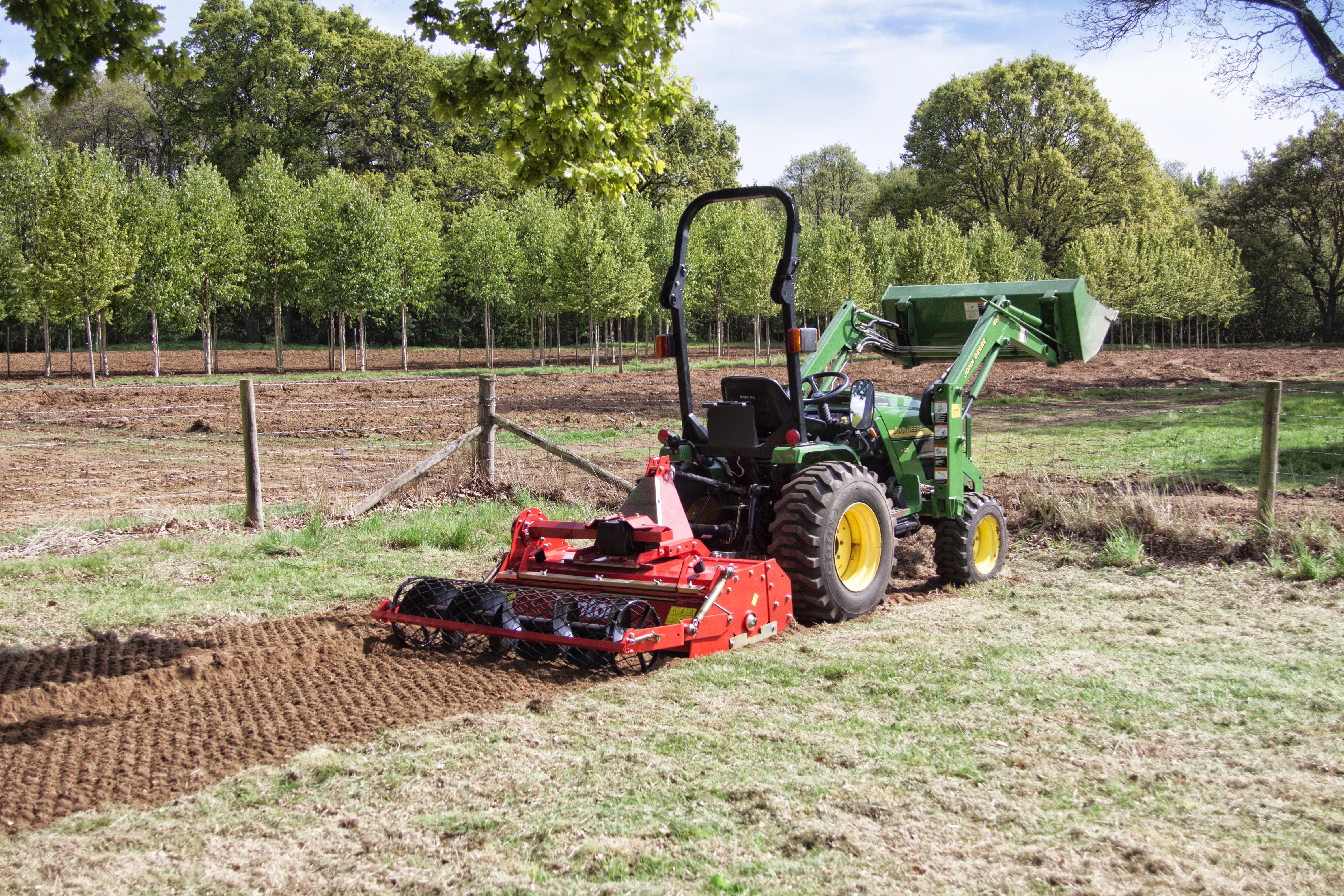 Groundcare machinery