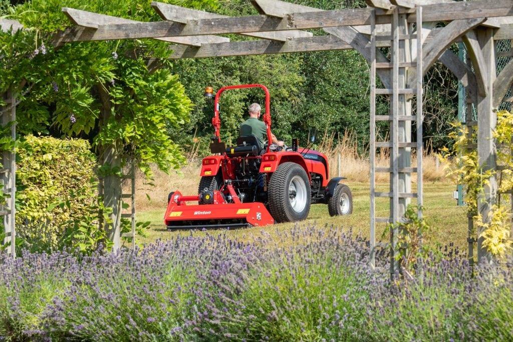 Grasscare machinery