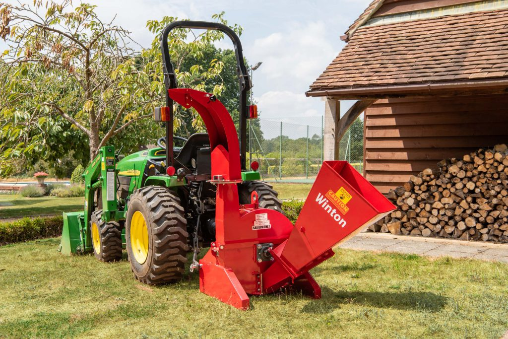 Compact tractor attachments | Wood Chipper
